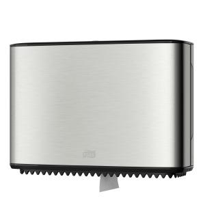 Tork Edelstahlspender für Jumbo Mini Toilettenpapier T2
