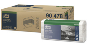Tork Premium Spezialtuch zum Reinigen empfindlicher Oberflächen, Einzeltücher W4