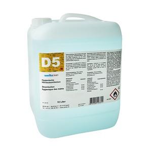 D5 Händedesinfektion 10 Liter